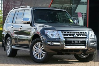 2021 Mitsubishi Pajero NX MY21 Exceed Graphite 5 Speed Sports Automatic Wagon.