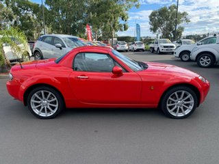 2007 Mazda MX-5 NC30F1 MY07 Roadster Coupe Red 6 Speed Manual Hardtop