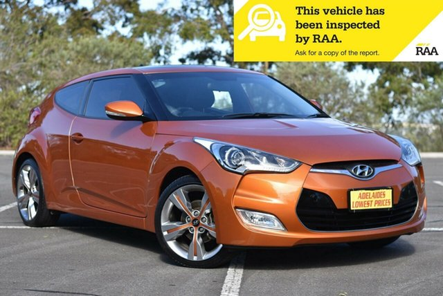 Used Hyundai Veloster FS2 Coupe Enfield, 2013 Hyundai Veloster FS2 Coupe Orange 6 Speed Manual Hatchback