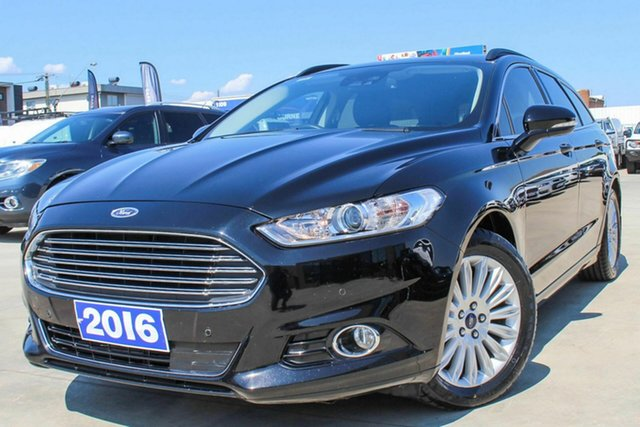 Used Ford Mondeo MD Trend Coburg North, 2016 Ford Mondeo MD Trend Black 6 Speed Sports Automatic Dual Clutch Wagon