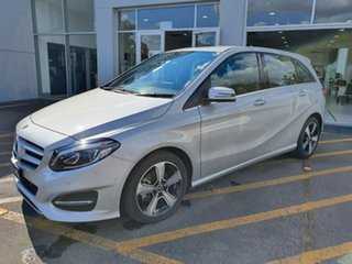 2017 Mercedes-Benz B-Class W246 807MY B180 DCT Silver 7 Speed Sports Automatic Dual Clutch Hatchback.