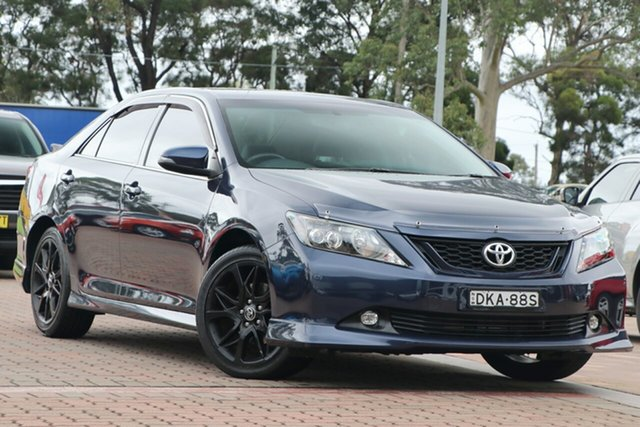 Pre-Owned Toyota Aurion GSV50R Sportivo Warwick Farm, 2016 Toyota Aurion GSV50R Sportivo Blue 6 Speed Sports Automatic Sedan