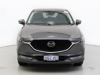 2018 Mazda CX-5 MY17.5 (KF Series 2) Akera (4x4) Grey 6 Speed Automatic Wagon.