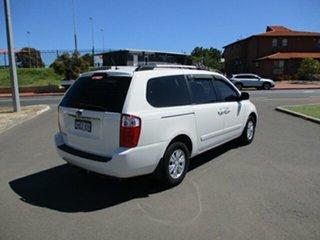 2014 Kia Carnival YP MY15 SI White 6 Speed Automatic Van