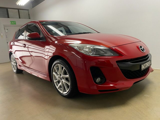 Used Mazda 3 BL Series 2 MY13 SP25 Phillip, 2013 Mazda 3 BL Series 2 MY13 SP25 Red 6 Speed Manual Hatchback
