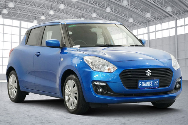 Used Suzuki Swift AZ GL Navigator Victoria Park, 2019 Suzuki Swift AZ GL Navigator Blue 1 Speed Constant Variable Hatchback