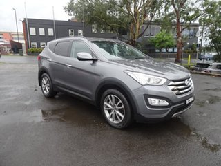 2013 Hyundai Santa Fe DM MY13 Elite Grey 6 Speed Automatic Wagon.