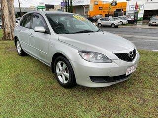 2006 Mazda 3 BK10F1 Maxx Sport Silver 4 Speed Sports Automatic Hatchback.