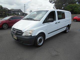 2013 Mercedes-Benz Vito MY11 113CDI LWB White 5 Speed Automatic Van.