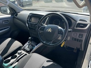 2015 Mitsubishi Triton MQ MY16 GLS (4x4) White 5 Speed Automatic Dual Cab Utility