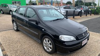 2005 Holden Astra Equipe Black 5 Speed Manual Hatchback.