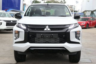 2021 Mitsubishi Triton MR MY21 GSR Double Cab White Diamond 6 Speed Sports Automatic Utility