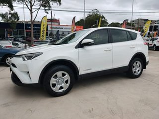 2017 Toyota RAV4 GX White Sports Automatic Wagon