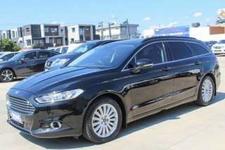 2016 Ford Mondeo MD Trend Black 6 Speed Sports Automatic Dual Clutch Wagon