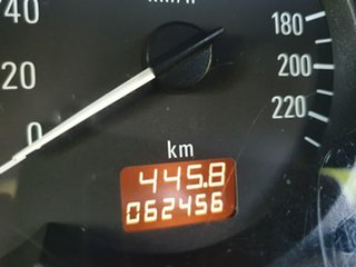2005 Holden Barina XC Red Automatic Hatchback