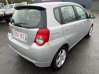 2009 Holden Barina TK MY09 Silver 4 Speed Automatic Hatchback.