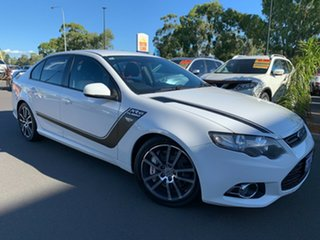 2013 Ford Falcon FG MkII XR6 Turbo White 6 Speed Sports Automatic Sedan.
