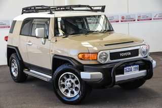 2012 Toyota FJ Cruiser GSJ15R Sandstorm 5 Speed Automatic Wagon.