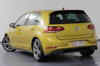 2017 Volkswagen Golf AU MY17 110 TSI Highline Tumeric Yellow 7 Speed Auto Direct Shift Hatchback.