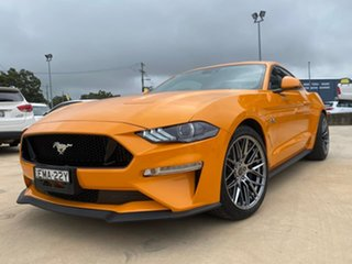 2018 Ford Mustang GT Orange Sports Automatic Fastback.