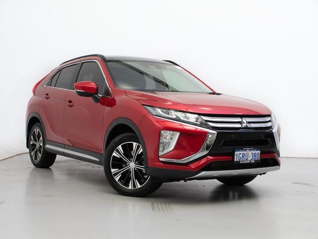 Used Mitsubishi Eclipse Cross YA MY18 Exceed (AWD), 2018 Mitsubishi Eclipse Cross YA MY18 Exceed (AWD) Red Continuous Variable Wagon