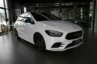 2020 Mercedes-Benz B-Class W247 800+050MY B180 DCT White 7 Speed Sports Automatic Dual Clutch