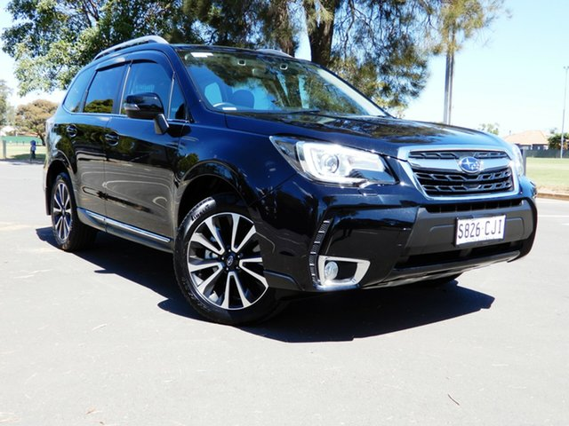 Used Subaru Forester S4 MY18 XT CVT AWD Premium Glenelg, 2018 Subaru Forester S4 MY18 XT CVT AWD Premium Black 8 Speed Constant Variable Wagon