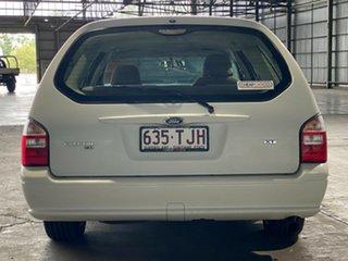 2007 Ford Falcon BF Mk II XT White 4 Speed Sports Automatic Wagon