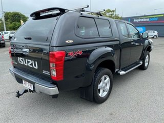 2013 Isuzu D-MAX MY12 LS-U Space Cab Black/Grey 5 Speed Manual Utility.