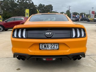 2018 Ford Mustang GT Orange Sports Automatic Fastback