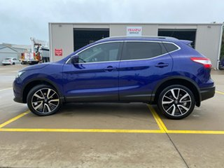 2016 Nissan Qashqai J11 TI Blue 1 Speed Constant Variable Wagon