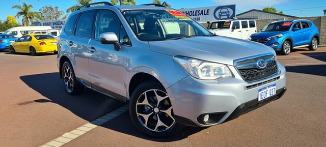Used Subaru Forester S4 MY14 2.5i-S Lineartronic AWD East Bunbury, 2014 Subaru Forester S4 MY14 2.5i-S Lineartronic AWD Silver 6 Speed Constant Variable Wagon