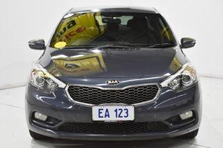 2013 Kia Cerato YD MY13 SI Blue 6 Speed Manual Sedan.