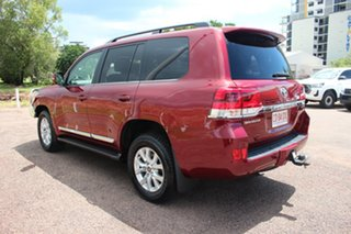 2019 Toyota Landcruiser VDJ200R Sahara Merlot Red 6 Speed Sports Automatic Wagon