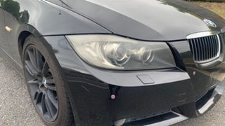 2007 BMW 325Ci Black Automatic Sedan.