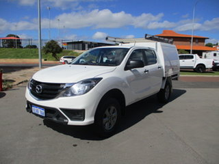 2018 Mazda BT-50 XT Hi-Rider (4x2) White 6 Speed Automatic Dual Cab.