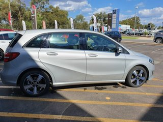2017 Mercedes-Benz B-Class W246 807MY B180 DCT Silver 7 Speed Sports Automatic Dual Clutch Hatchback