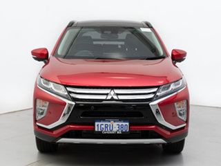2018 Mitsubishi Eclipse Cross YA MY18 Exceed (AWD) Red Continuous Variable Wagon.