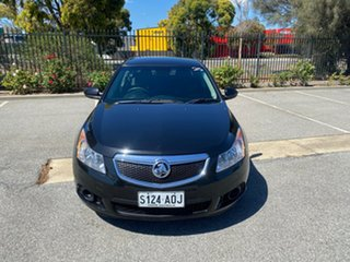 2011 Holden Cruze JH Series II MY12 CD Black 6 Speed Sports Automatic Sedan.