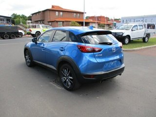 2017 Mazda CX-3 DK2W7A sTouring SKYACTIV-Drive FWD Blue 6 Speed Automatic Wagon.
