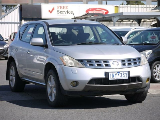 Used Nissan Murano Z50 ST Cheltenham, 2007 Nissan Murano Z50 ST Silver Constant Variable Wagon