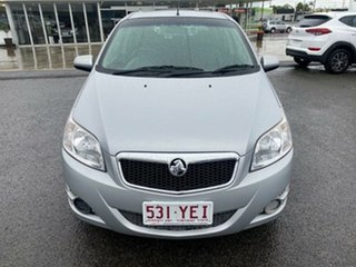 2009 Holden Barina TK MY09 Silver 4 Speed Automatic Hatchback