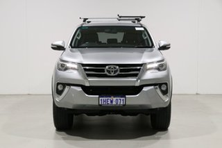 2016 Toyota Fortuner GUN156R Crusade Silver 6 Speed Automatic Wagon.