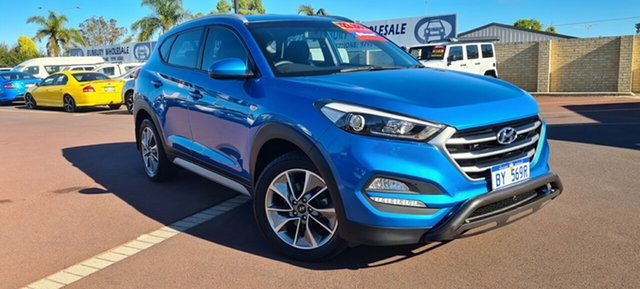 Used Hyundai Tucson TL MY17 Active X 2WD East Bunbury, 2017 Hyundai Tucson TL MY17 Active X 2WD Blue 6 Speed Sports Automatic Wagon