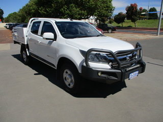 2017 Holden Colorado RG MY17 LS Abalone White 6 Speed Automatic Dual Cab