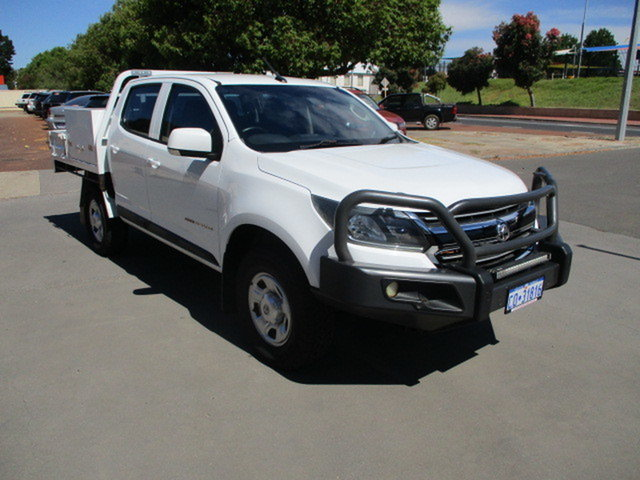 Used Holden Colorado RG MY17 LS Katanning, 2017 Holden Colorado RG MY17 LS Abalone White 6 Speed Automatic Dual Cab
