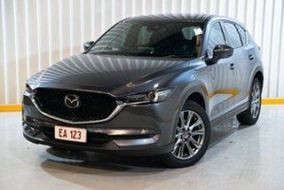2020 Mazda CX-5 KF4W2A Akera SKYACTIV-Drive i-ACTIV AWD Grey 6 Speed Sports Automatic Wagon.