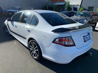 2013 Ford Falcon FG MkII XR6 Turbo White 6 Speed Sports Automatic Sedan.