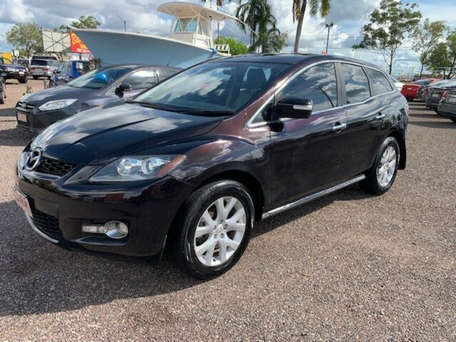 Used Mazda CX-7 Pinelands, 2007 Mazda CX-7 LUXURY Black 4 Speed Auto Active Select Wagon