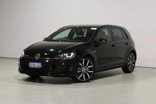 2014 Volkswagen Golf AU MY14 GTi Black 6 Speed Direct Shift Hatchback.